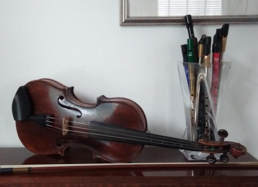 Gear we use my Violin