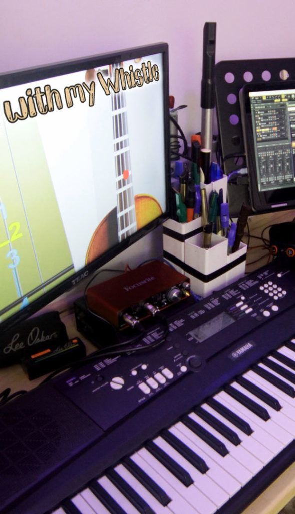 Gear we use my keyboard piano