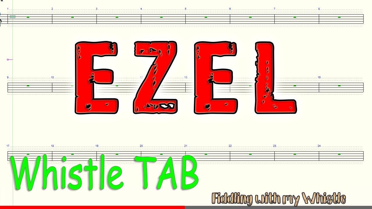 Ezel – Eysan Unutamiyorum – Tin Whistle – Play Along Tab Tutorial