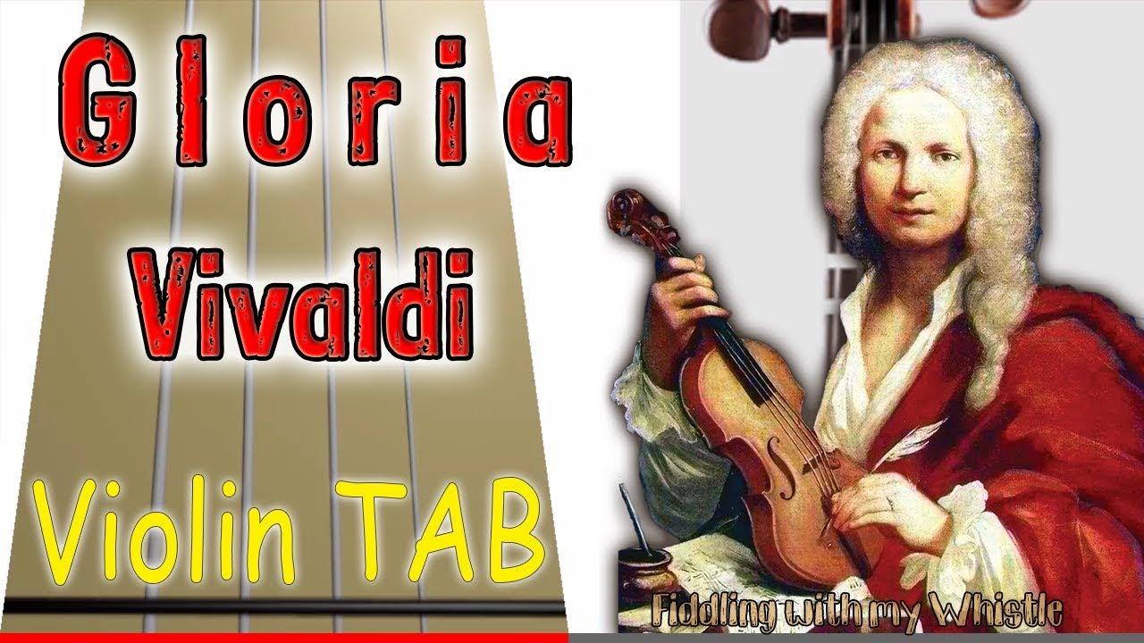 Gloria – Vivaldi – Violin – Play Along Tab Tutorial