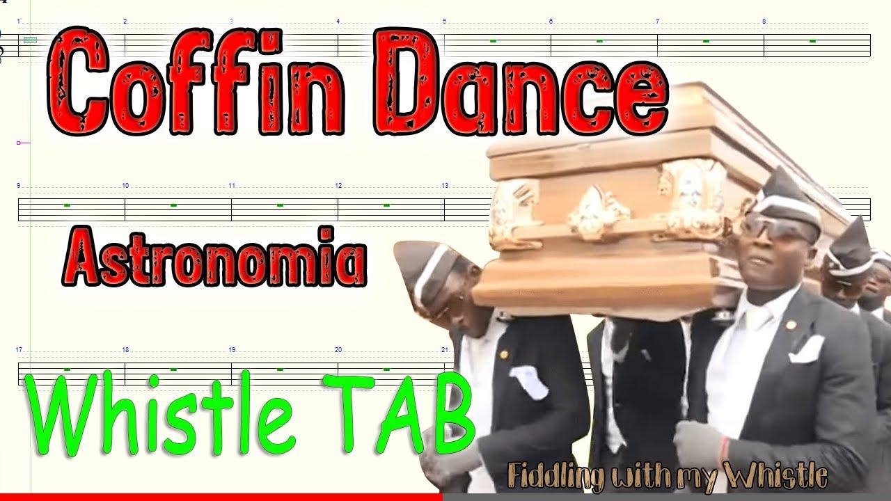Coffin Dance – Astronomia – Tin Whistle – Play Along Tab Tutorial