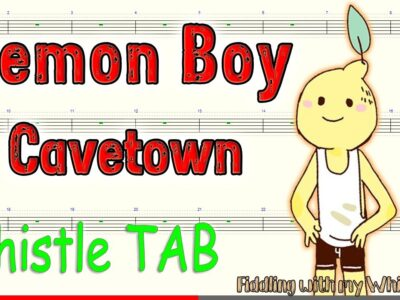 Lemon Boy – Cavetown – Tin Whistle – Play Along Tab Tutorial