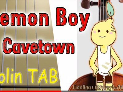 Lemon Boy – Cavetown – Violin – Play Along Tab Tutorial