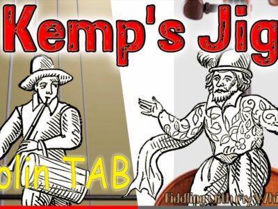 Kemp's Jig – Traditional Folk – Violin – Play Along Tab Tutorial