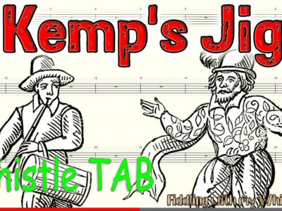 Kemp's Jig – Traditional Folk – Tin Whistle – Play Along Tab Tutorial