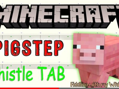 Pigstep – Minecraft – Tin Whistle – Play Along Tab Tutorial