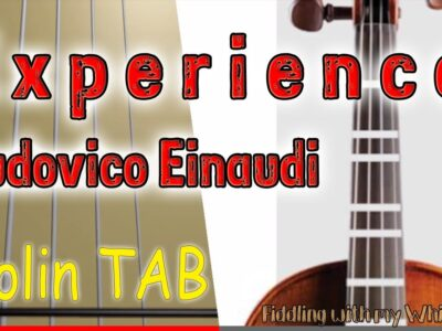 Experience – Ludovico Einaudi – Violin – Play Along Tab Tutorial