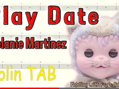 Play Date – Melanie Martinez – Tin Whistle – Play Along Tab Tutorial